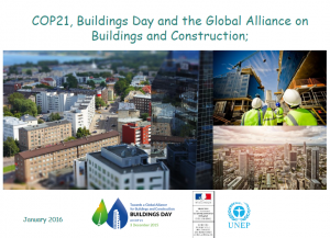 COP21 Buildings Day