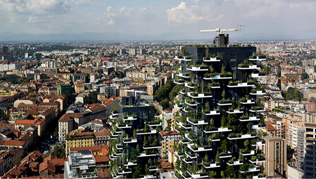 Sustainable Building in Milano, Italy – Il Bosco Verticale (Vertical Forest)
